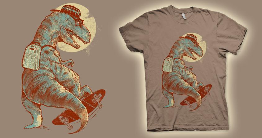 I Was A Teenage T.Rex V2 by iamrobman on Threadless