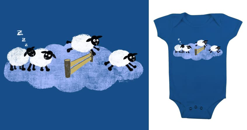 Sleepy Sheep by theserestlesshands on Threadless