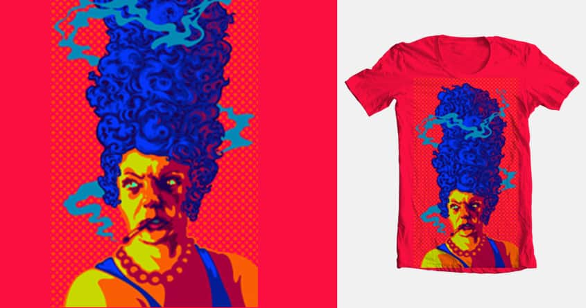 Marge Simpson by camerondevol on Threadless
