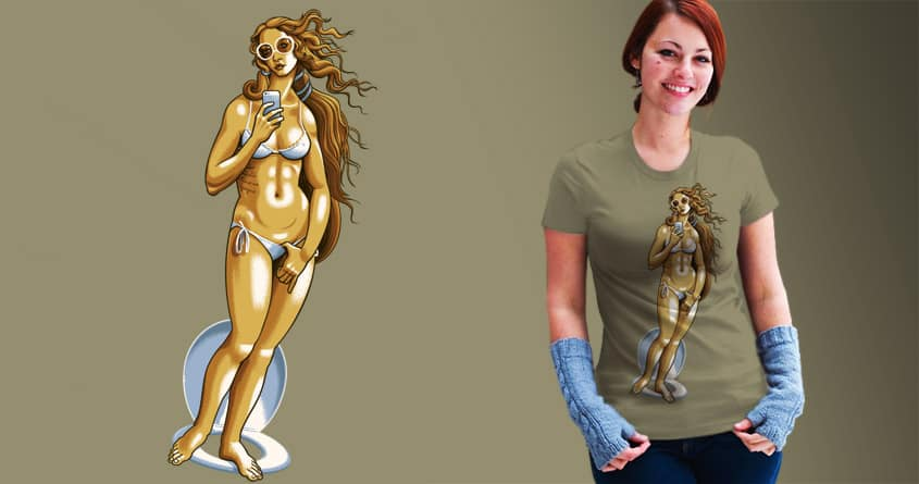 The Birth of Vainness by d3d on Threadless