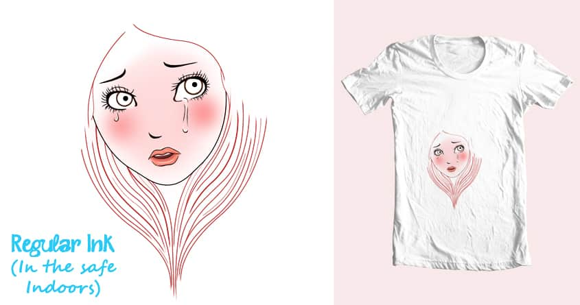 Why are you crying, little girl by sun flo wer on Threadless