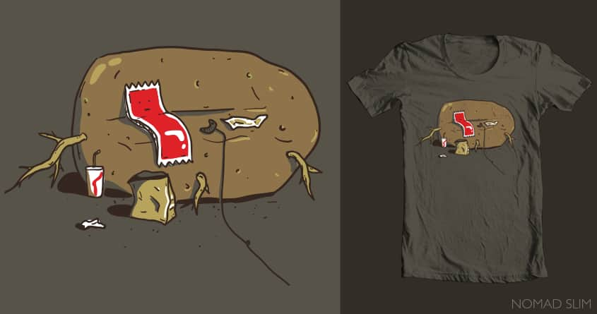 Couch Potato by NomadSlim on Threadless
