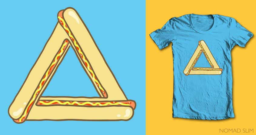 Impossibly delcious by NomadSlim on Threadless