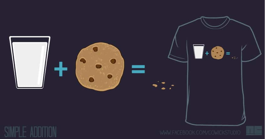Simple Addition by NCowick on Threadless