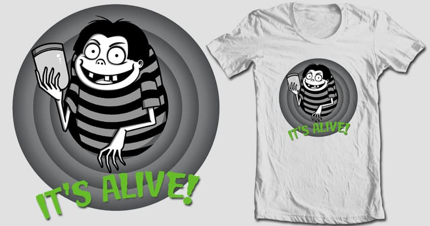It's Alive! by Doodle by Ninja! on Threadless