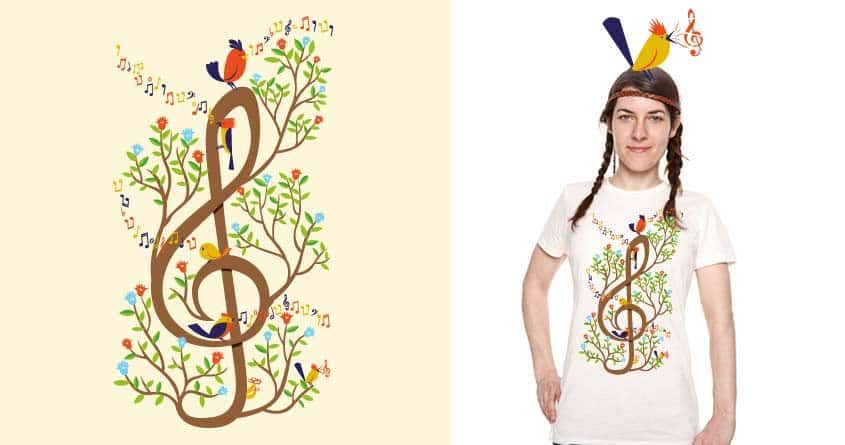 Song Birds by Wharton on Threadless