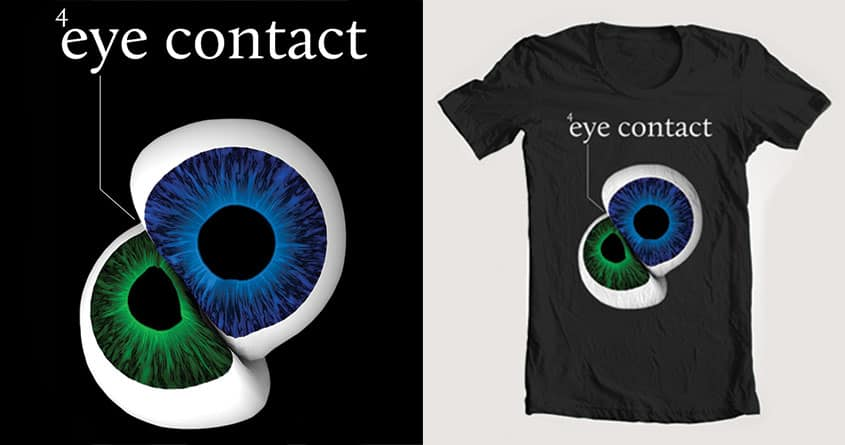 Eye Contact by justin7861 on Threadless