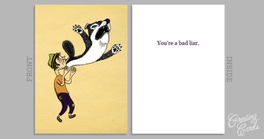 Bad Liar by SteveOramA on Threadless