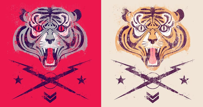 Tiger by andres1984 on Threadless