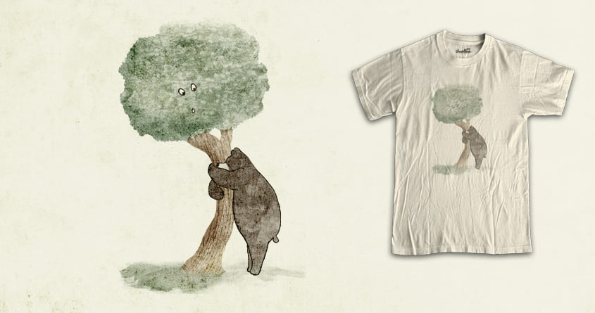 bear hug  by jerbing33 on Threadless