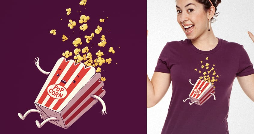 Popcorn Fall by temyongsky on Threadless