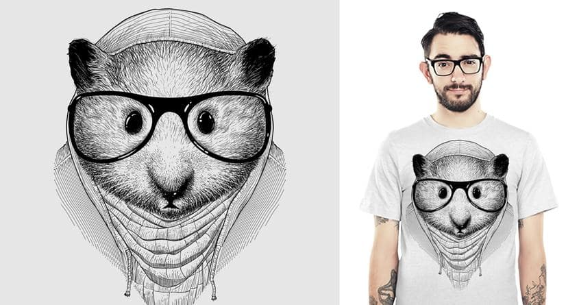 HIP(HAM)STER by wagnogueira and opippi on Threadless