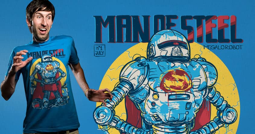 MEGALOROBOT by Gums. and goliath72 on Threadless