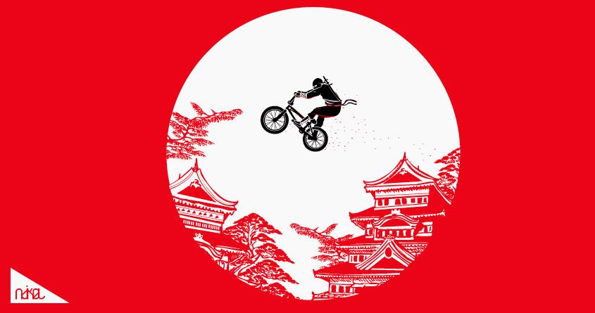 ninja bike by ndikol on Threadless