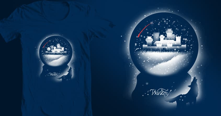About books and snow globes by tobiasfonseca on Threadless