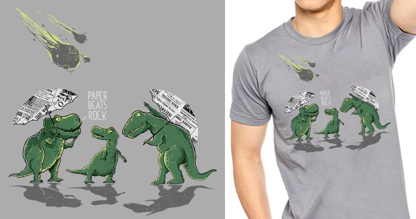 The Dinosaur Game by iamrobman on Threadless