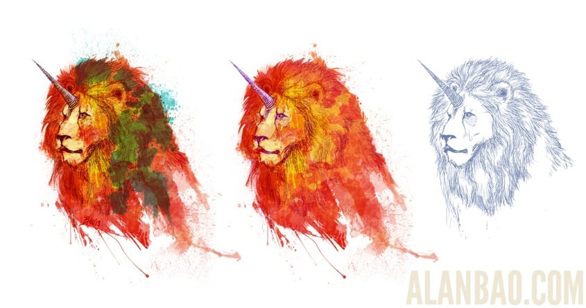 King of Imaginary Beasts  by AlanBao on Threadless