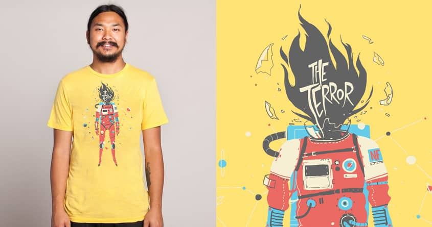The Cosmostronaut by fightstacy on Threadless