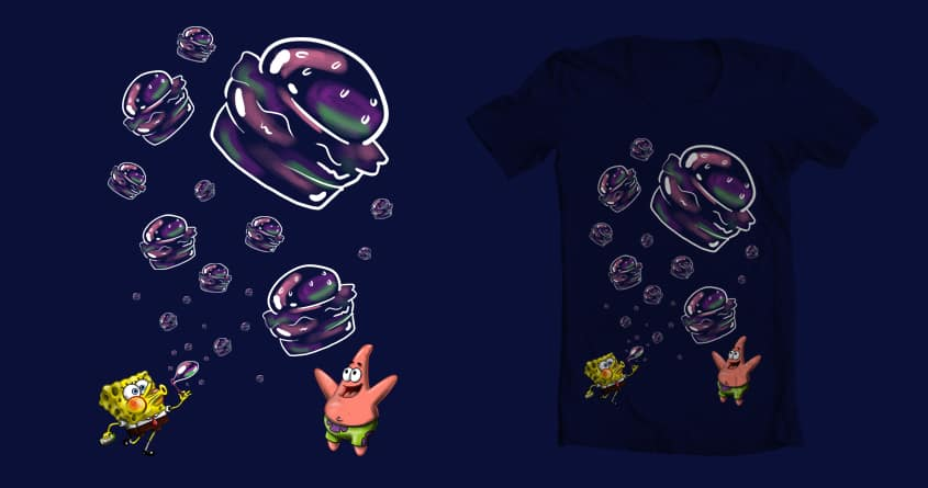 BUBBLE PATTIES!!! by BC_Arts on Threadless
