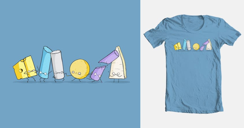Chalk&Cheese by emooooo on Threadless