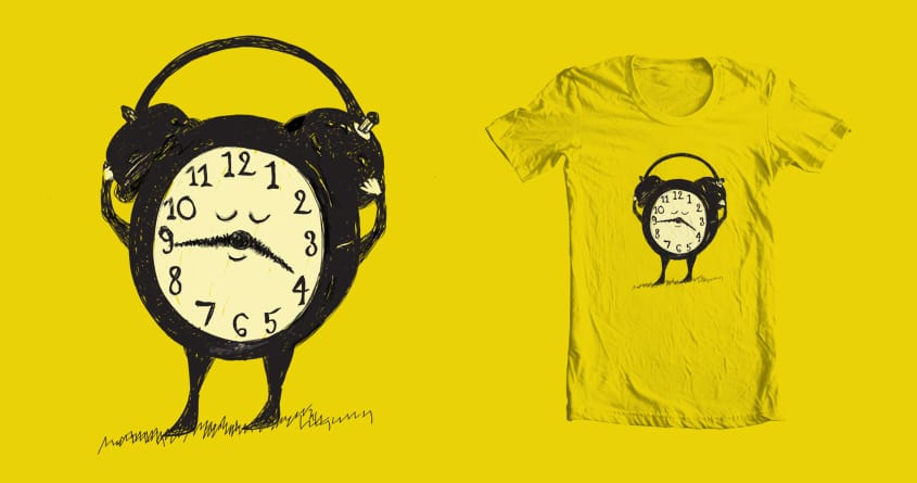 Enjoying the moment by zcccrv on Threadless