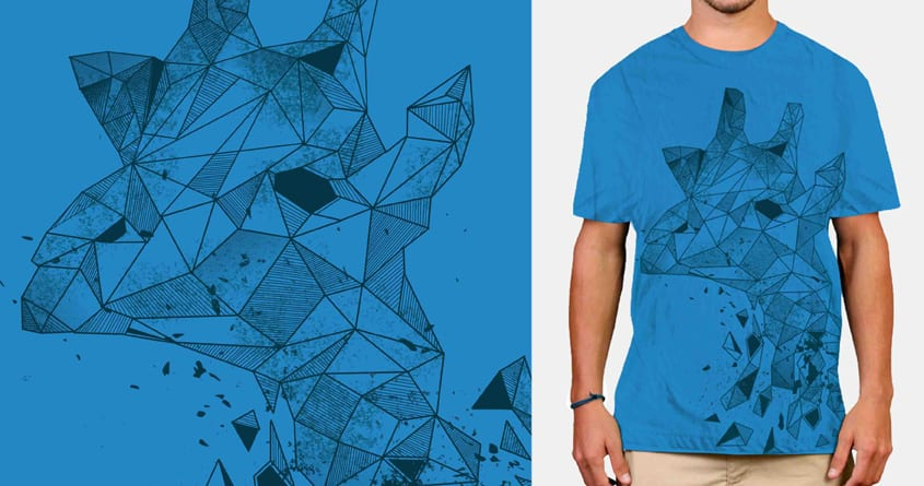 shape giraffe  by zatanpermana on Threadless