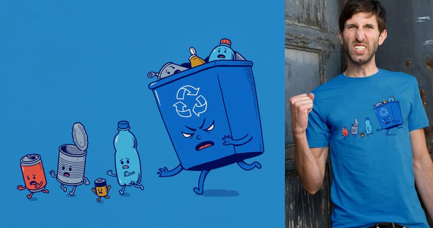 Recycling by ben chen on Threadless
