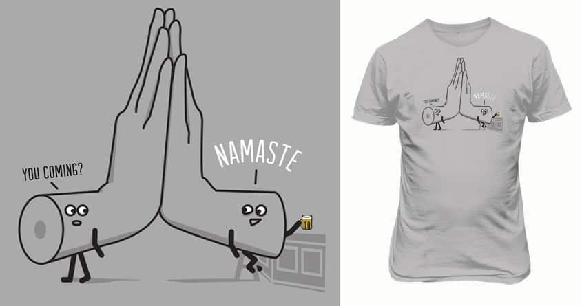 namaste by campkatie on Threadless