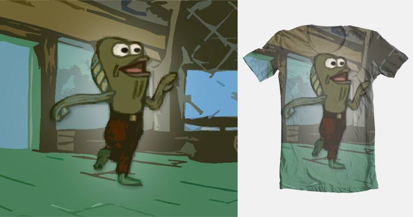 Score Rev Up Those Fryers By Washib On Threadless #spongebob #rev up those fryers #fred the fish #i'm only making this post because i'm back from band #and i feel like screaming my leggggg!!!!1!!!! rev up those fryers by washib on threadless