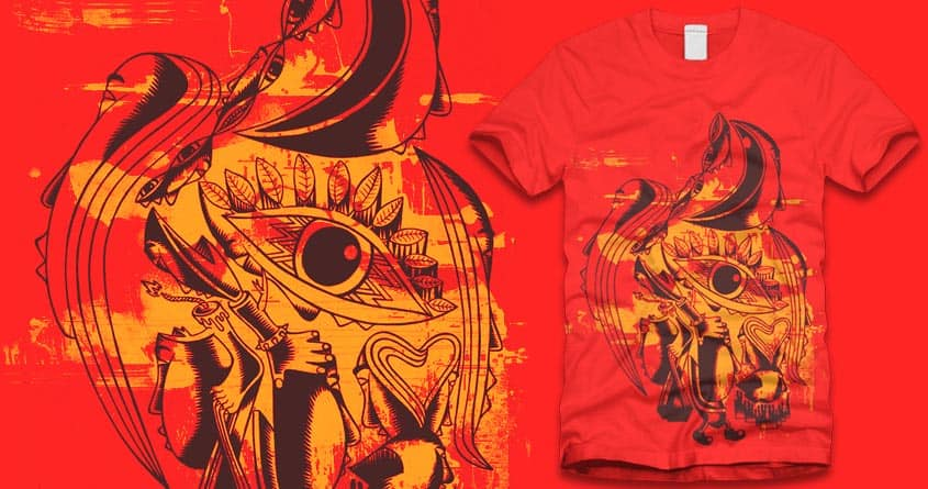 Aztec Mural Histeria by TamanRahasia on Threadless