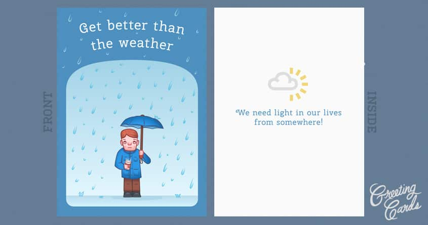 Get Better Than The Weather by Jaffacakelover on Threadless