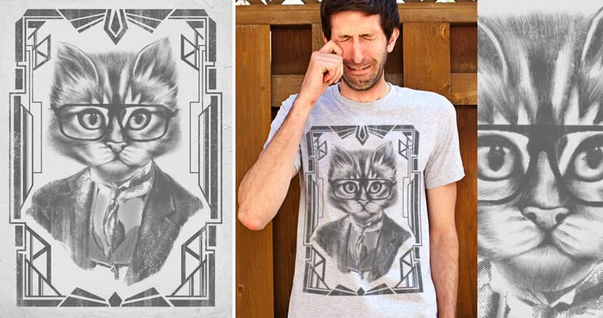 The Great CATsby by dandingeroz on Threadless