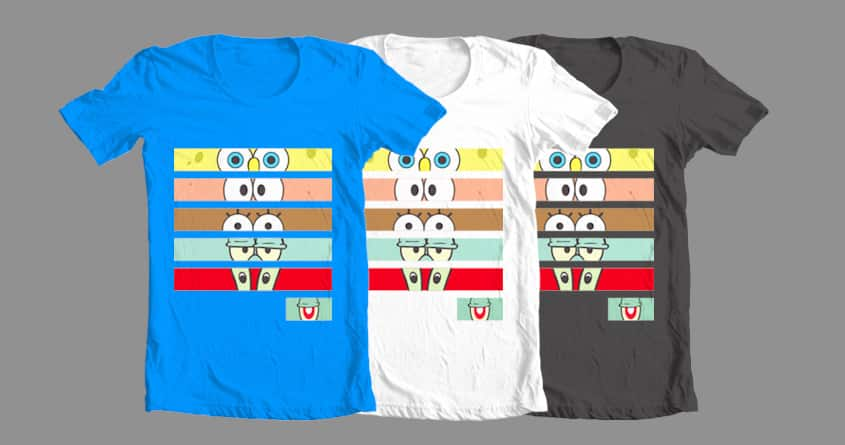 Eyes of Spongebob and Friends by Edyap on Threadless