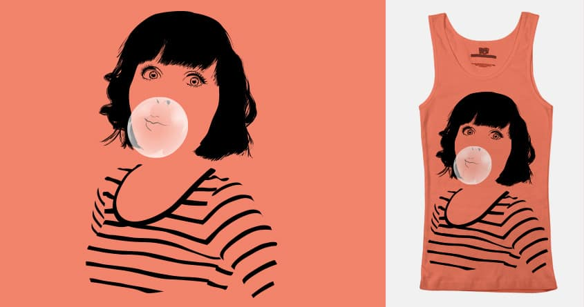 Bubblegum by FalcaoLucas on Threadless