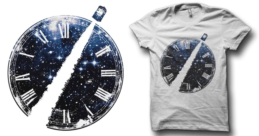 Journey through time and space by Leo Canham on Threadless