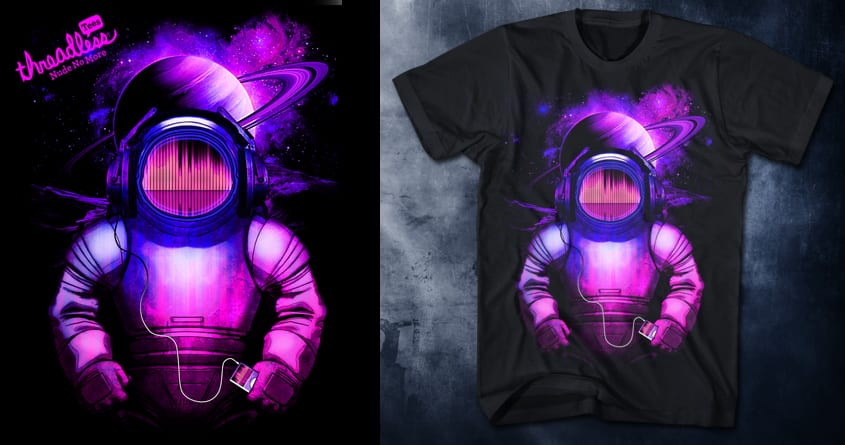 Space Music by chingmoncheng on Threadless