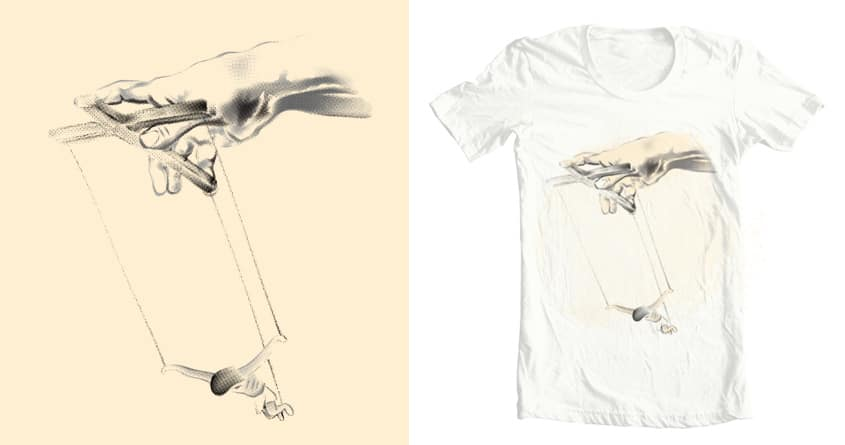 Hand of God by zcccrv on Threadless