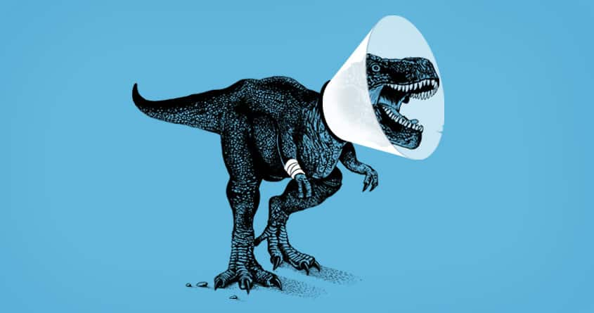 Rex, no! by Rhodrigo Maia. on Threadless