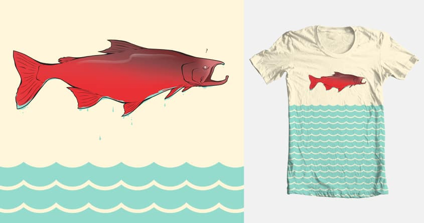 Fish out of water by mdim on Threadless