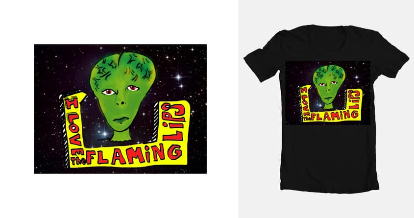 Alien Lov by Colossalsky on Threadless