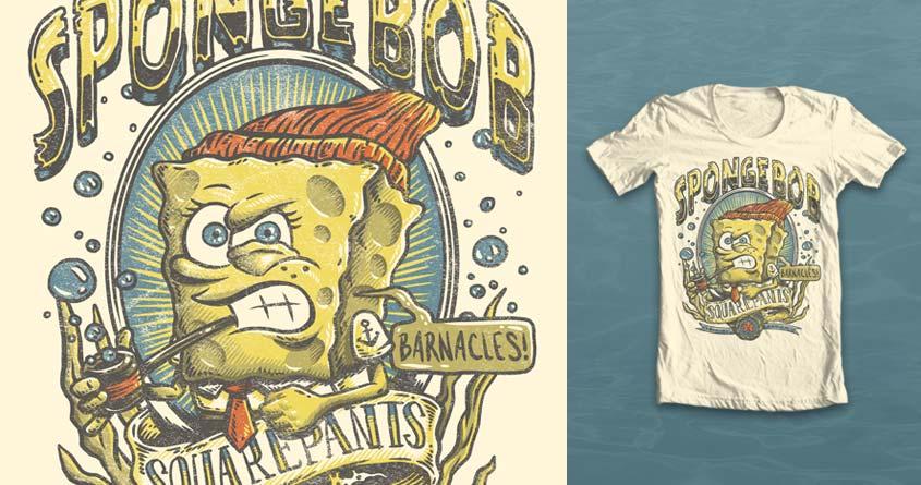 The Sponge's Aquatic Life by fregalado86 on Threadless