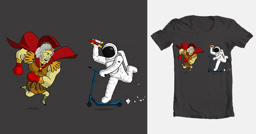 Square the Space up. by azrael5 on Threadless