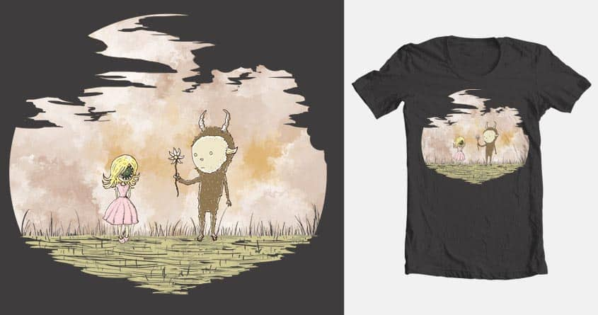 Horror & the Beast by letsblowuptheMOON on Threadless