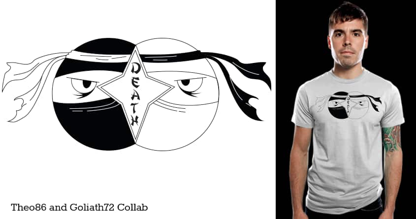 Ninja Diagram by Theo86 and goliath72 on Threadless