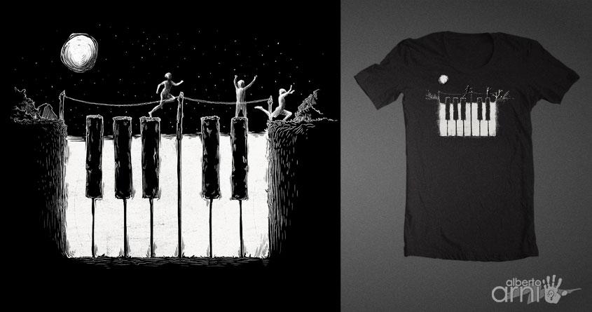Piano Night by albertoarni on Threadless