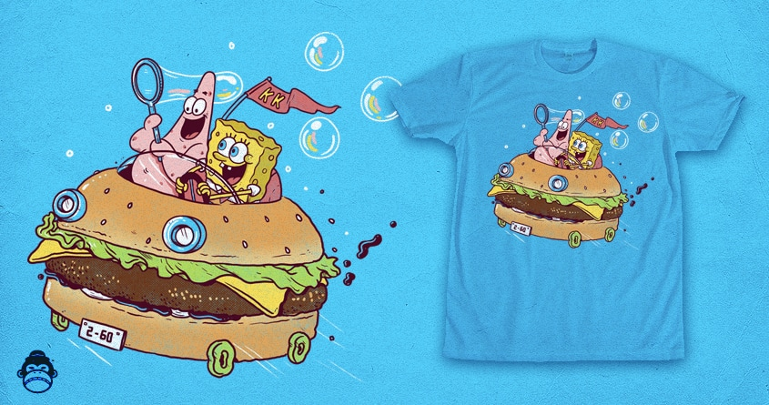 You don t need a license to drive a sandwich by alexmdc on threadless