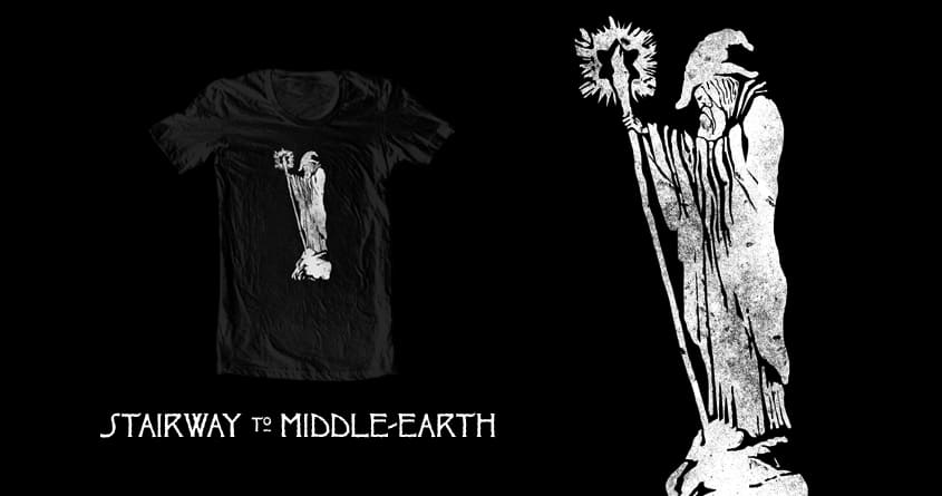 stairway to middle-earth by jerbing33 on Threadless