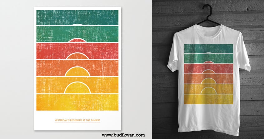 Yesterday is redeemed at the sunrise by radiomode on Threadless