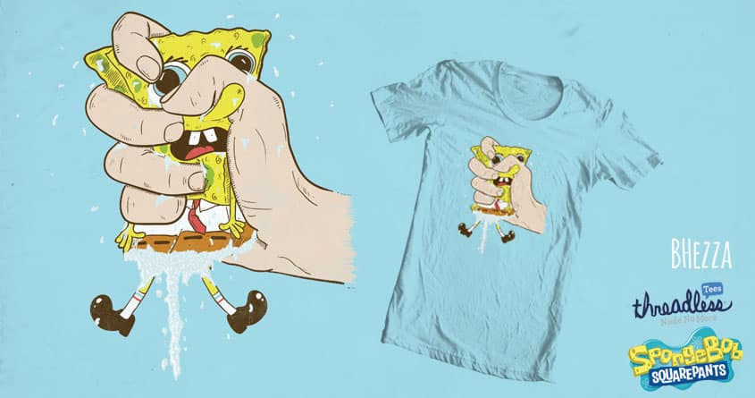 Squeeze by BubbleHezza on Threadless