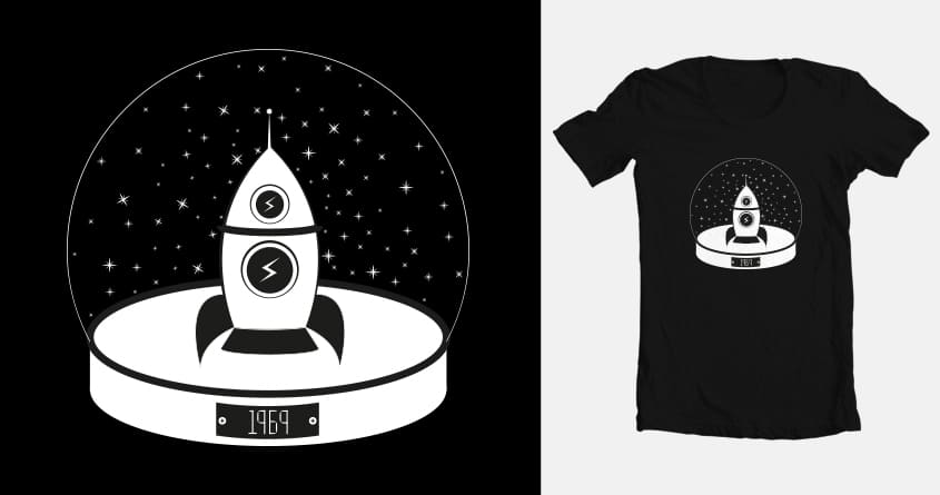 Souvenir from the Moon by theodesimpel on Threadless